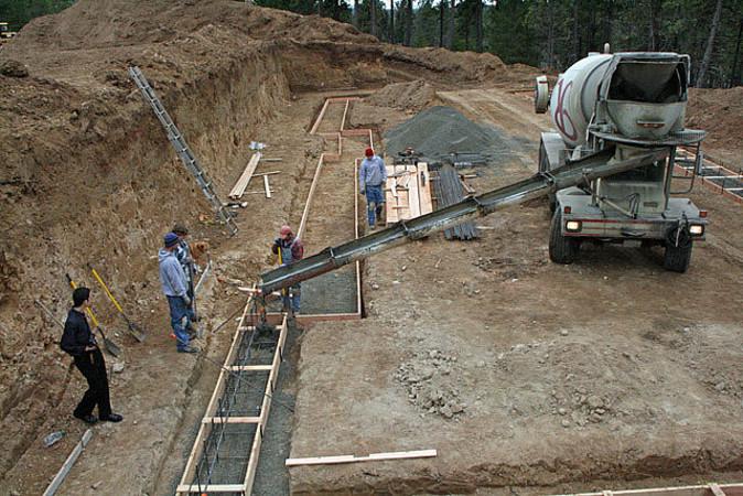 бетонирование фундамента цена за куб