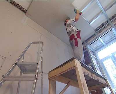 гипсокартонные потолки от мастеров харькова