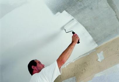технология покраски потолка из гипсокартона