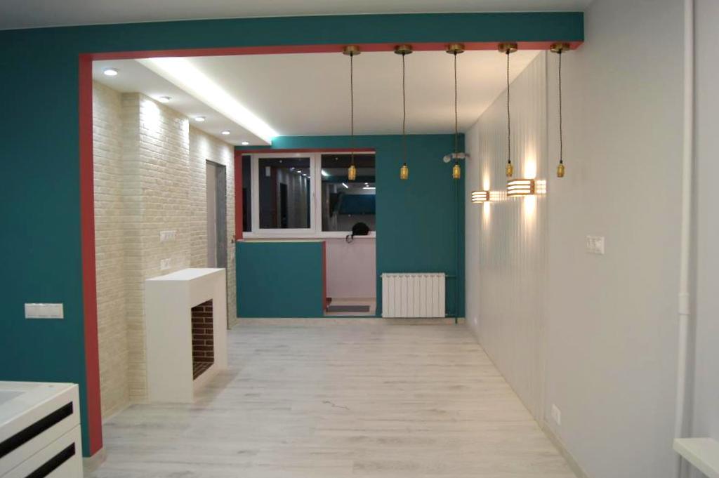 Косметический ремонт 3х комнатных квартир под ключ