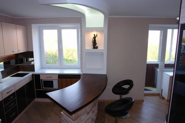 косметический ремонт однокомнатной квартиры под ключ