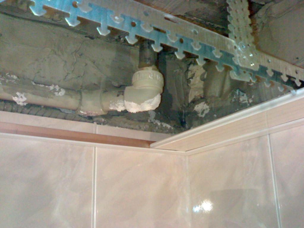 ремонт подвесных потолков - фото