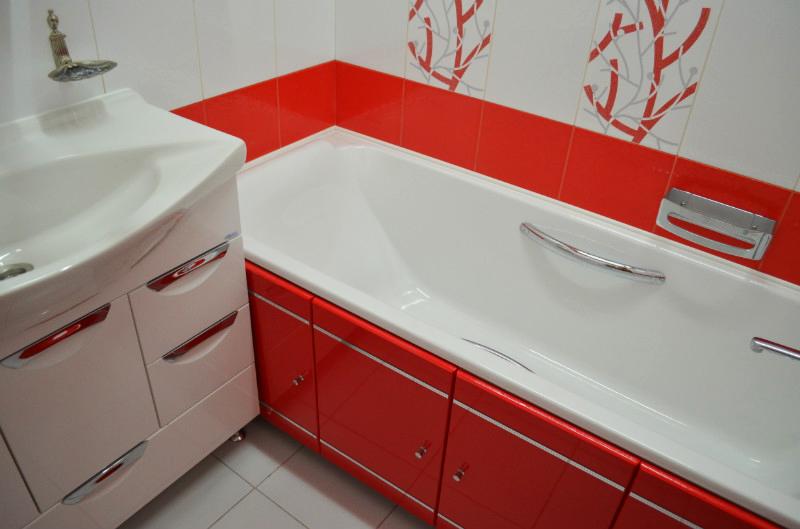 Дизайнерский ремонт ванной комнаты под ключ