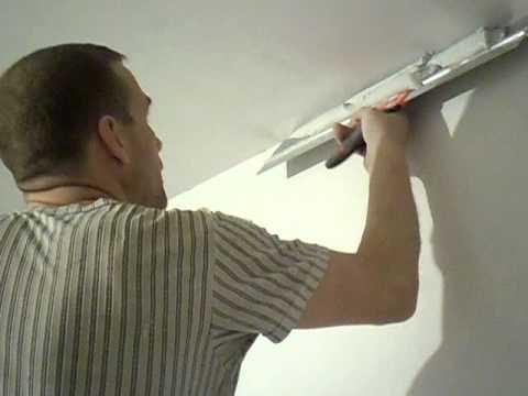 шпаклевка потолка в харькове от профессионалов