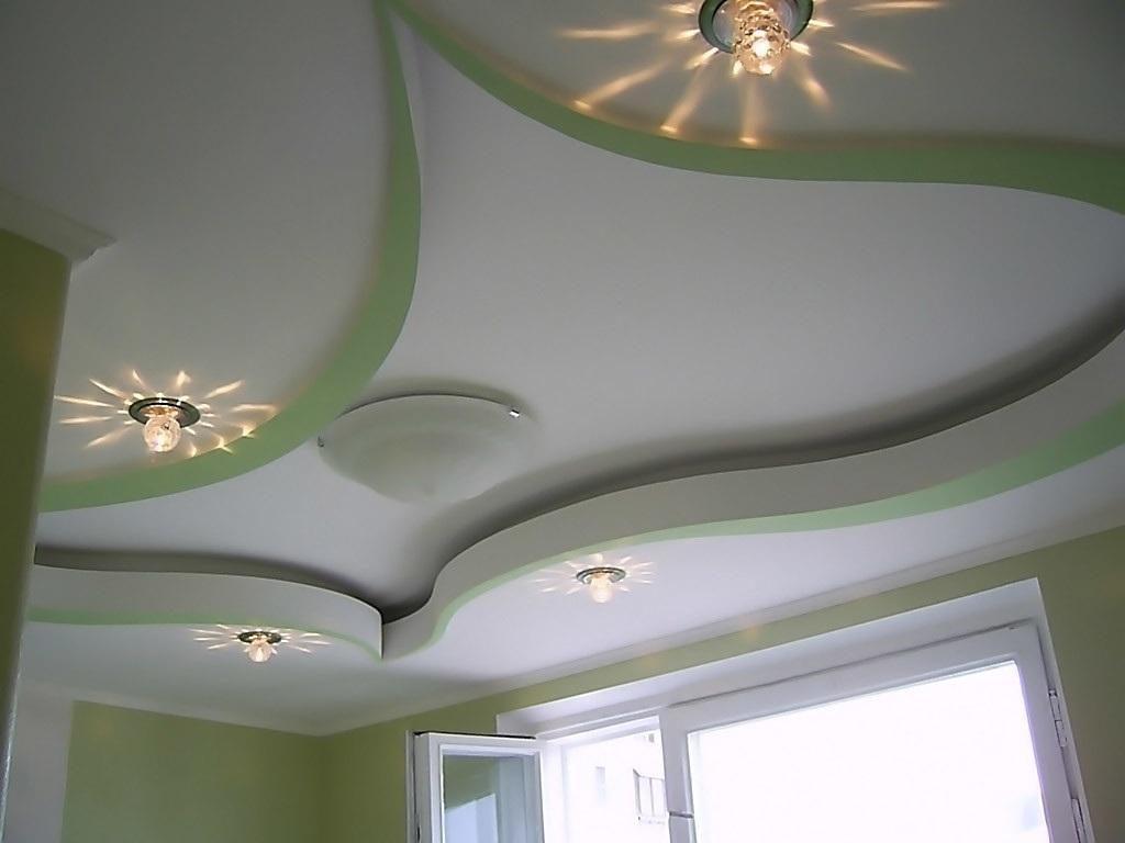 сколько стоят гипсокартонные потолки